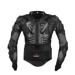 AKAUFENG Motorrad Protektorenjacke Protektorenhemd Motorrad S-5XL, MTB Protektoren Schutzkleidung Schutzjacke - 1