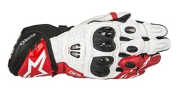 Alpinestars Racing Handschuhe GP Pro R2 Gloves, BLACK WHITE RED, L - 1