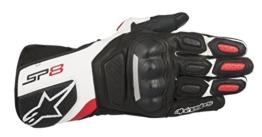 Alpinestars SP-8 v2 Handschuh schwarz/weiß/rot L - Motorradhandschuhe - 1