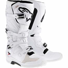 Alpinestars Tech 7 Stiefel, Herren, 2012014, White-, 10(44.5) - 1