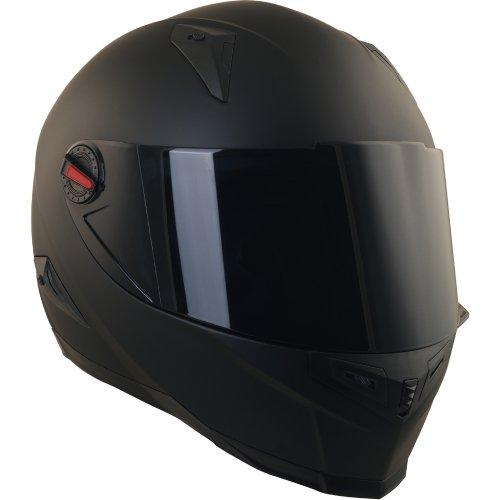 Broken Head BeProud Blau Ltd - Schlanker Motorradhelm Mit Schwarzem Zusatz-Visier - Matt-Schwarz - Größe S (55-56 cm) - 3
