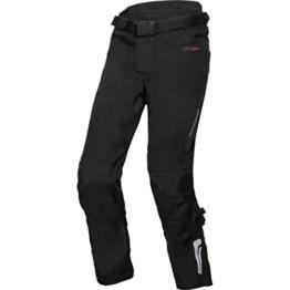 FLM Motorradhose Touren Textilhose 1.0 schwarz XL (lang), Herren, Tourer, Ganzjährig - 1