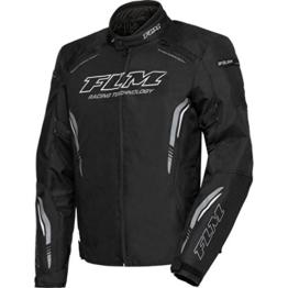 FLM Motorradjacke mit Protektoren Motorrad Jacke Sports Textiljacke 6.0 anthrazit L, Herren, Sportler, Sommer - 1