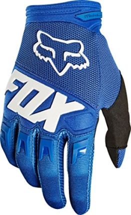 FOX Herren Dirtpaw Race Handschuhe, Blue, 2X - 1