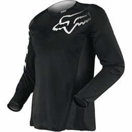 FOX Jersey Blackout Schwarz Gr. M - 1