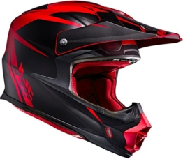 HJC FX-CROSS - AXIS / MC1SF - Crosshelm/Endurohelm/Motorradhelm, GröàŸe:XXL - 1