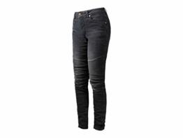 John Doe Betty Biker Jeans Black Used XTM | Motorradhose mit Kevlar | XTM Made with Dupont Kevlar | Einsetzbare Protektoren | Atmungsaktiv | Motorrad Jeans | Denim Jeans mit Stretch - 1