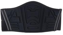 Ledershop-online Motorrad Nierengurt Nierenschutz Rückenwärmer mit breitem Klettverschluss schwarz 6 X - 1