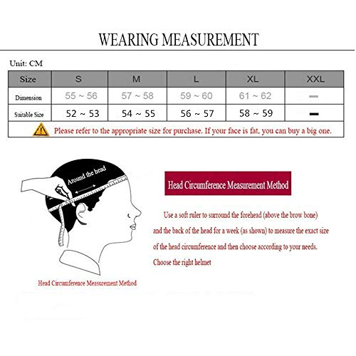 MRDEER Motocross Helm, Adult Off Road Helm mit Handschuhe Maske Brille, Unisex Motorradhelm Cross Helme Schutzhelm ATV Helm für Männer Damen Sicherheit Schutz, 5 Stile Verfügbar,A,L - 2