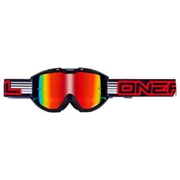 O'NEAL B1 RL Goggle MX DH Brille Flat schwarz/Radium Oneal - 1