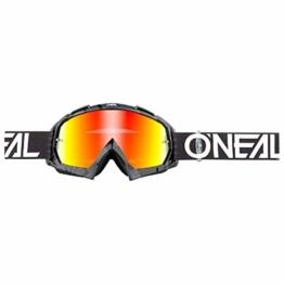 O'NEAL B10 Pixel Goggle Goggle MX DH Brille schwarz/grau/Radium Oneal - 1