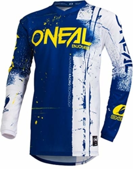 O'NEAL Element Shred FR Youth Kinder Jersey Trikot lang blau/weiß 2019 Oneal: Größe: L (140-152) - 1
