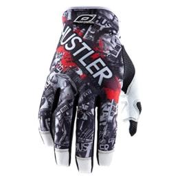 O'Neal Jump PISTONS Handschuhe schwarz/weiss Fahrrad Moto Cross Mountain Bike MTB MX Enduro, 0385JP-0, Größe X-Large - 1