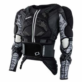 O'NEAL Protektorenjacke Motorrad Protektorenhemd MadAss Moveo Protektorenjacke schwarz L, Unisex, Cross/Offroad, Sommer, Textil - 1