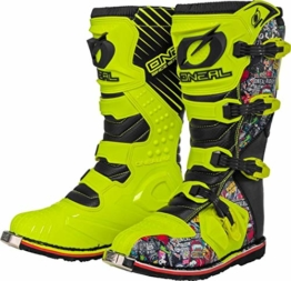 O'NEAL Rider Crank MX Motocross Supermoto Motorrad Stiefel gelb/schwarz 2020 Oneal: Größe: 9/42 - 1