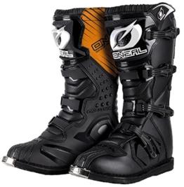 O'NEAL Rider MX Motocross Supermoto Motorrad Stiefel schwarz 2020: Größe: 13/47 - 1