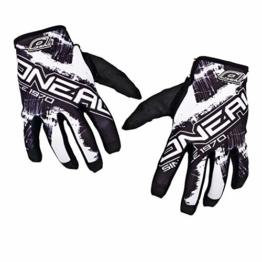 O'NEAL Unisex Handschuhe Jump Shocker, Weiß, L, 0385JS-8 - 1