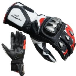 PROANTI Motorradhandschuhe Racing Pro Motorrad Handschuhe - Größe XXL - 1