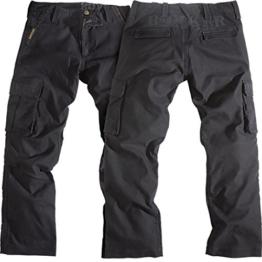 Rokker Motorrad Jeans Motorradhose Motorradjeans Black Jack Jeans schwarz 36/34, Herren, Chopper/Cruiser, Ganzjährig, Textil - 1