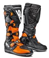 Sidi Stiefel X-Treme SRS, Orange Fluo-Schwarz, Größe : 44 - 1