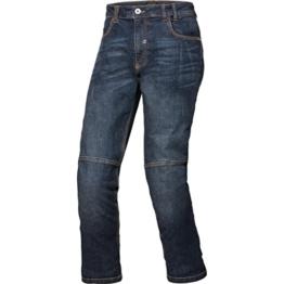 Spirit Motors Motorrad Jeans Motorradhose Motorradjeans Aramid-/Baumwolljeans mit Stretch 1.0 blau 34/32, Herren, Chopper/Cruiser, Ganzjährig, Textil - 1